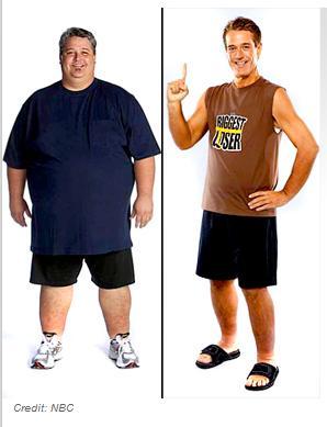 Foto 'Loser' valt 108 kilo af