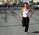 Foto Gezond eten en meer bewegen traditionele voornemens