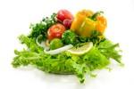Foto Niet zon maar groenten bezorgen mooiste teint